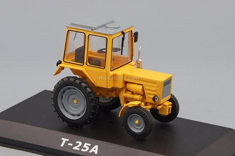 Tractor T-25A Vladimiritets yellow 1:43 Hachette #124