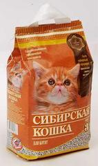 Наполнитель для котят, Сибирская Кошка
