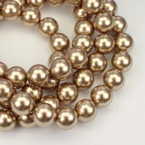 5810 Хрустальный жемчуг Сваровски Crystal Bronze круглый 10 мм