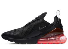 Кроссовки Мужские Nike Air Max 270 Black Red
