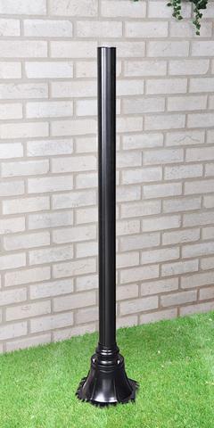 Столб для светильника 1043 120 см черный A022922