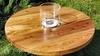 Журнальный стол с биокамином (слэб карагача)