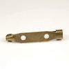 Основа для броши 30х6 мм (цвет - античная бронза), 95-100 штук