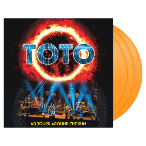 Toto / 40 Tours Around The Sun (Coloured Vinyl)(3LP)