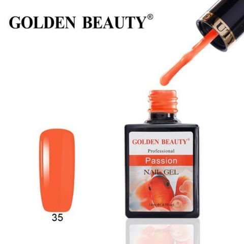 Гель лак Golden Beauty 14ml №35
