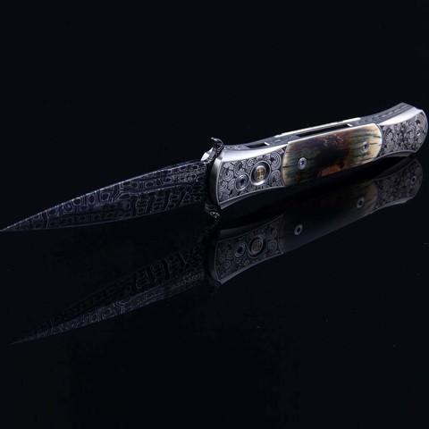 Автоматический нож Pro-Tech модель Custom The DON-BM