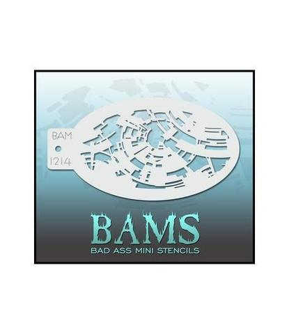 Трафарет BAMS 1214