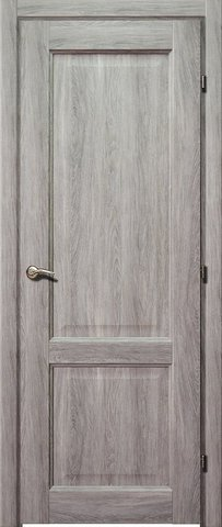 Дверь Краснодеревщик ДГ 6323, цвет дуб пепельный, глухая