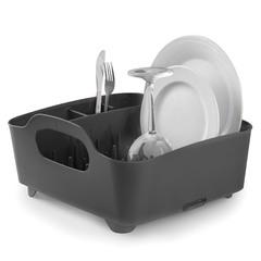 Сушилка для посуды Tub чёрная