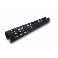 Цевье длинное трубчатое VS-24 для нарезных карабинов АК / САЙГА / ВЕПРЬ (черный)