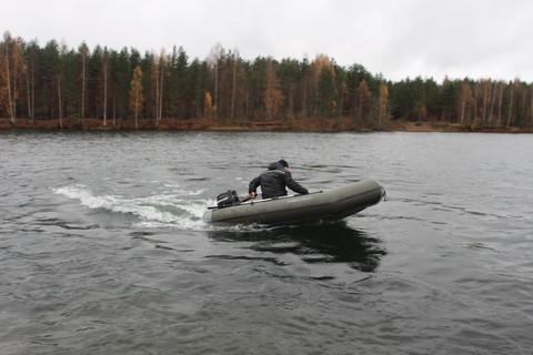 Надувная моторная лодка ПВХ Stream Стрим 3100 бескилевая
