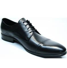 Черные мужские туфли Икос 2235-1 black