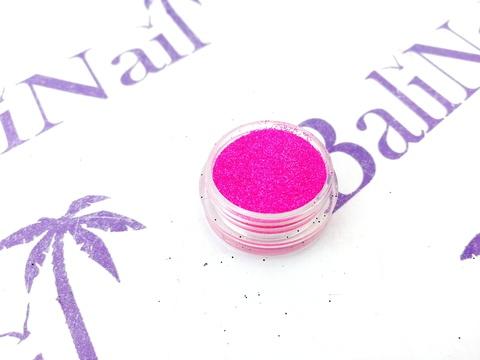 TNL Меланж-сахарок для дизайна ногтей №18 неон розовый