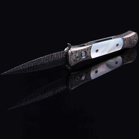 Автоматический нож Pro-Tech модель Custom The DON-MOP