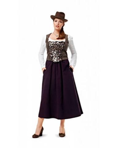 Выкройка Burda (Бурда) 7032 — Фольклорный костюм