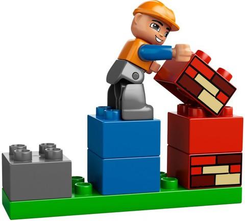 LEGO Duplo: Моя первая стройплощадка 10518