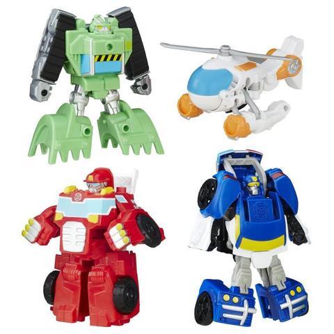 Команда спасателей: Болдер, Чейз, Блэйдс и Хитвейв - Боты спасатели (Rescue Bots), Hasbro