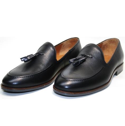 Мужские туфли лоферы классические. Тассел лоферы Ikoc 010-1.