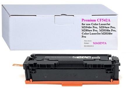 Картридж Premium CF542A № 203A