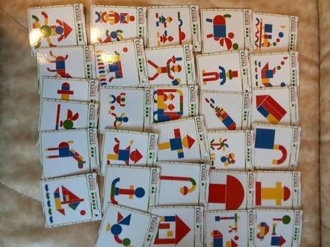 Игра «Мозаика магнитная в коробке» (2-х сторонняя)