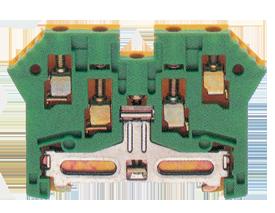 SL 2,5/35/ZRL GNYE заземляющая клемма жёлто-зелёного цвета Артикул: 1062.2