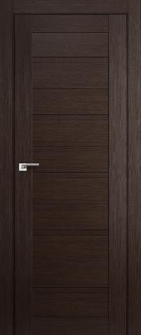 Дверь Profil Doors №7X-Модерн, цвет венге мелинга, глухая