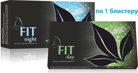 APL. Аккумулированные драже APLGO FIT day и FIT night для эффективного и безопасного снижения веса по 1 блистеру