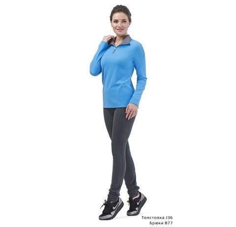 Спортивные брюки В77 (серые)