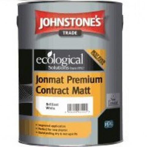 JOHNSTONE'S JONMAT PREMIUM CONTRACT MATT/ДЖОНСТОУНС Матовая водоэмульсионная краска
