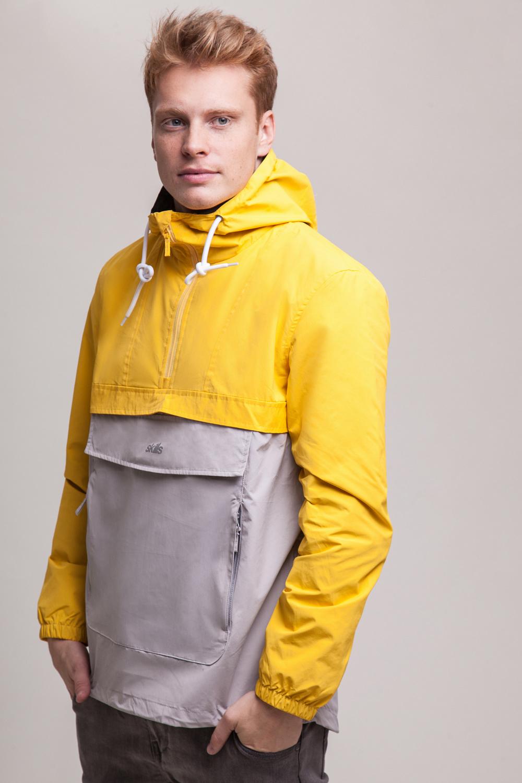 Анорак SKILLS Colorblock (Желтый (Yellow/Grey)