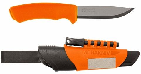 Нож Morakniv Bushcraft Survival Orange, арт. 12051_