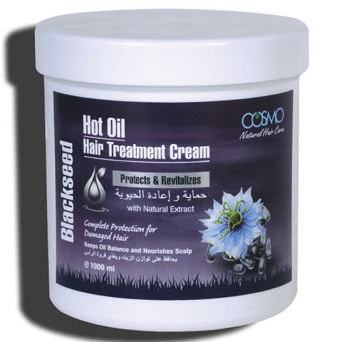 Крем для горячей обработки волос Чёрный тмин