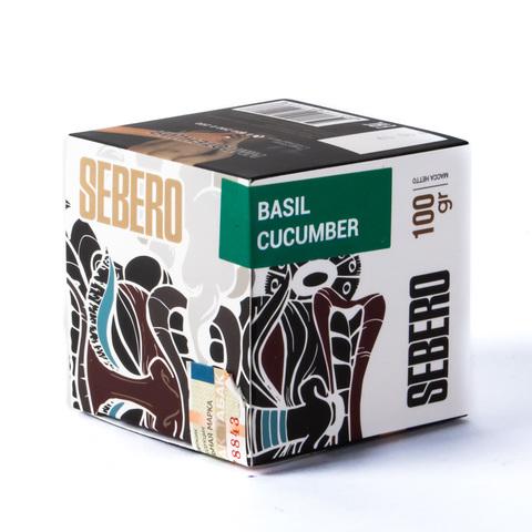 Табак Sebero Basil Cucumber (Базилик Огурец) 100 г