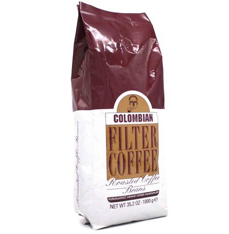 Кофе в зернах Colombian, Mehmet Efendi, 1 кг