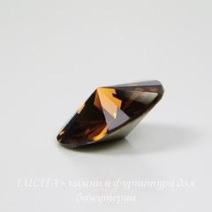 1122 Rivoli Ювелирные стразы Сваровски Smoked Topaz (14 мм)