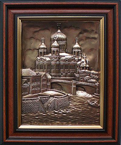 """Картина """"Москва. Храм Христа Спасителя"""""""