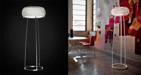 replica  Caboche Floor Lamp ( orange )