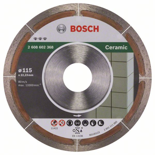 Алмазный диск Best for Ceramic 115-22,23 Bosch 2608602368