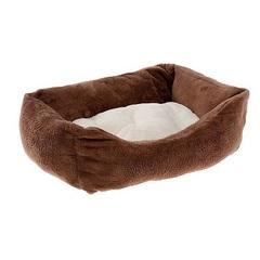 Софа для собак и кошек, Ferplast COCCOLO 50 SOFT коричневая