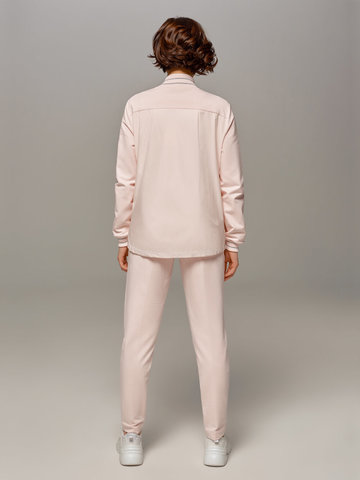 Женские розовые брюки LE TRICOT - фото 2