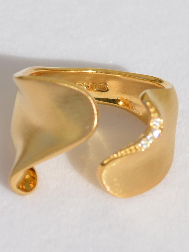 Фьюжен З (кольцо из серебра)