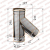 Тройник-К 135° d120мм (430/0,5 мм) Ferrum