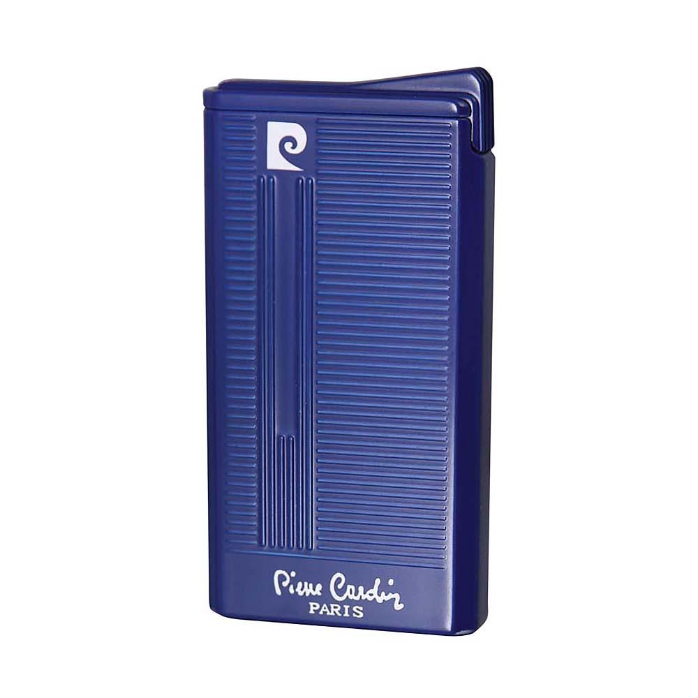 Зажигалка Pierre Cardin газовая турбо, ветрозащитная, цвет синий, 3.4x1x 6.7см