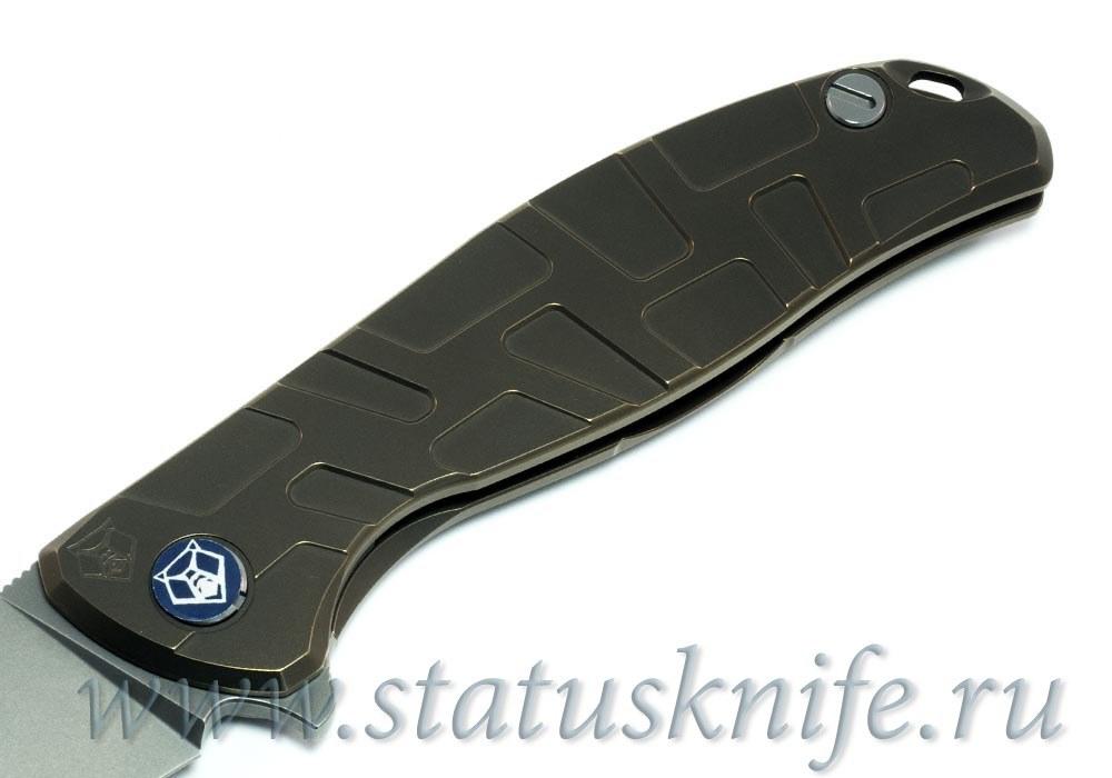 Нож Широгоров Флиппер 95 M390 S узор T подшипники
