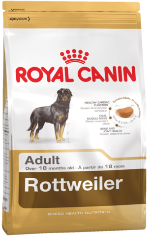 Royal Canine Rottweiler Adult 19 кг