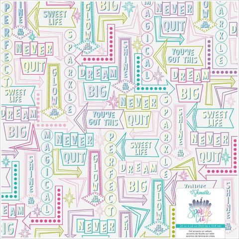 Ацетатный лист 30х30см -Amy Tan Stay Sweet от American Crafts