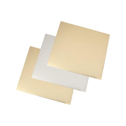 Подложка усиленная двухсторонняя, 3,2 мм (золото/жемчуг), 30х30 см