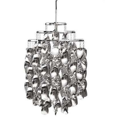 replica Verner Panton  Spiral pendant lamp (silver)