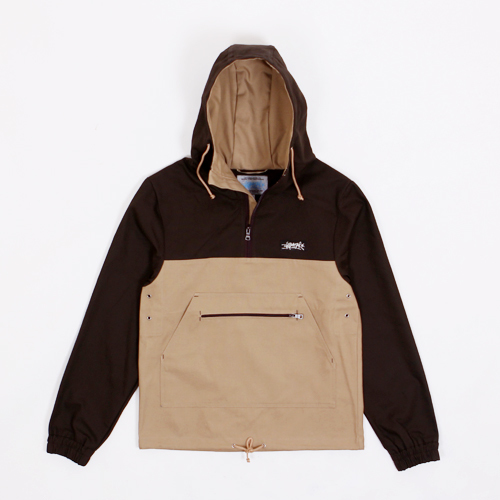 Анорак ANTEATER Cotton Combo Beige/Brown