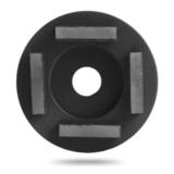 Алмазная шлифовальная  фреза Messer тип G для грубой шлифовки (4 сегмента)